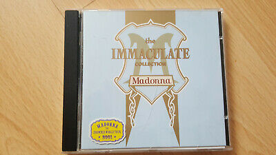 MADONNA The Immaculate Collection Cd (Pop music)