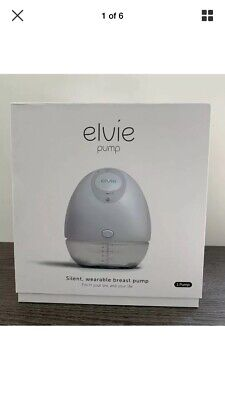 Elvie Single Breast Pump- Used Only For A Few Hours