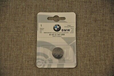 GENUINE BMW i3, i8 & i8 ROADSTER CAR KEY FOB / REMOTE BATTERY