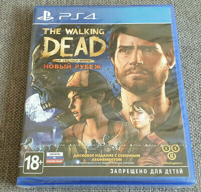 Sony Playstation 4 PS4 The Walking Dead A New Frontier New Russian Ver Eng Game
