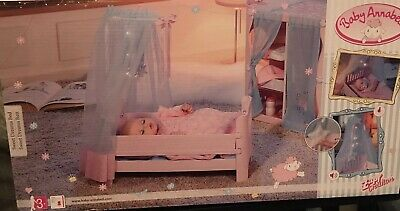 Zapf Creation Baby Annabell Sweet Dreams Bed Doll Furniture