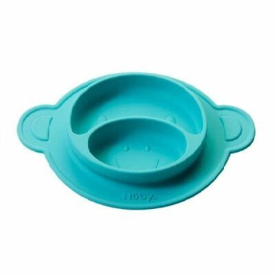 Nuby Monkey Muncheez Green Suction Plate