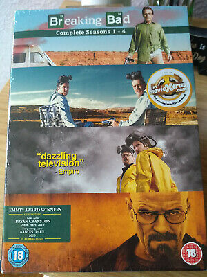 Breaking Bad Complete Series 1 - 4 Dvd Box Set. Brand New and Sealed