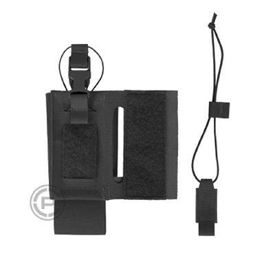 Crye Precision - AirLite Configurable Radio Pouch - Black