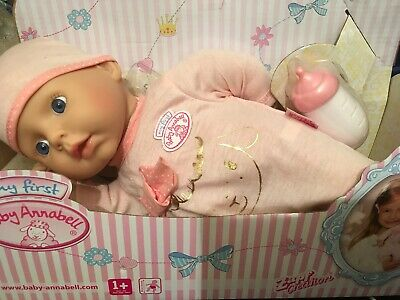 BNIB Zapf Creation My First Baby Annabell Doll Suitable 1+