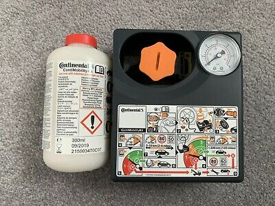 Continental Conti Mobility Kit Tyre Inflator and 300ml Sealant 09/2019