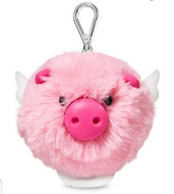 JUST ARRIVED! NWT~Bath and Body Works (FLYING PIG POM )PocketBac Holder!!!