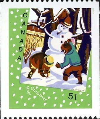 Canada      # 2184i    CHRISTMAS CARDS     New 2006 Die Cut Issue