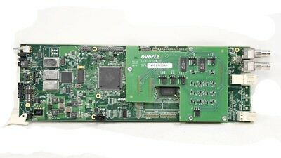 EVERTZ 7721DE4-HD+GPI hd/SD-SDI Quad Data Embedder (No Backplane)