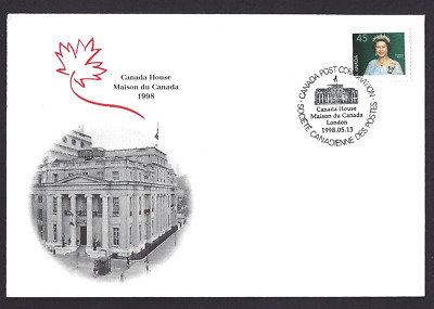 Canada  S30  Special Event Cover     Canada House    New 1998 Unaddressed