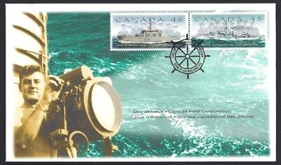 Canada  # 1763 -1762 Reverse     CANADIAN  NAVAL RESERVE    New 1998 Unaddressed
