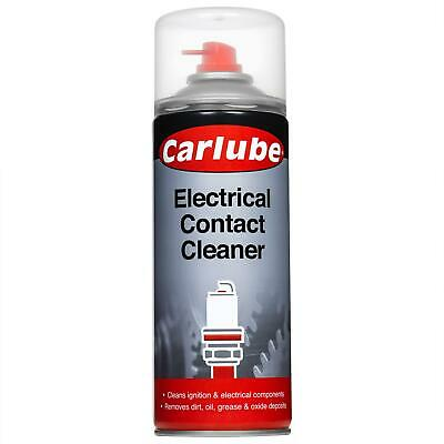 Carlube Electrical Contact Cleaner 400ml Maintenance Sprays CEC412