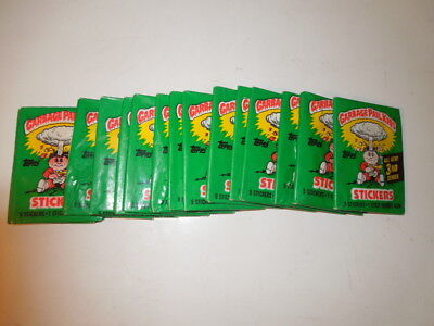 986 86 Garbage Pail Kids USA 3rd Series 1 Unopened Pack, 1 (x) packs available