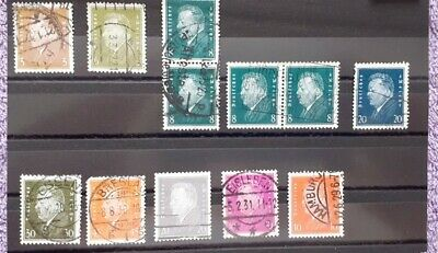 Timbres Germany, Deutsches Reich, Nazi, Allemagne., stamps, Lot used