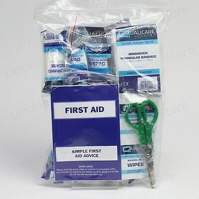 Public Service Vehicle (PSV) First Aid Kit REFILL. Bus, Taxi, Coach or Minibus