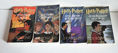 Harry Potter Grand Format Tome 4 Tome 5 Tome 6