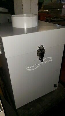 """☆New☆ FLOW SCIENCES 4010  SS AIR CHAMBER FAN BLOWER/HOOD 6""""Outlet 4""""inlet"""