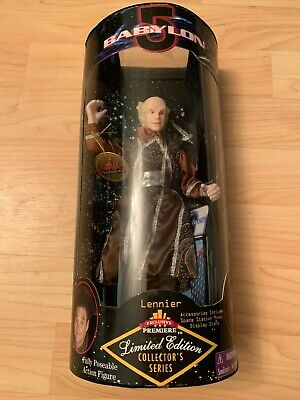 Babylon 5 Lennier Exclusive Premiere Edition Poseable Action Figure