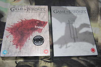 GAME OF THRONES ~ Series 1-3 ~ Complete (DVD, 15-Disc's in total, 2 Box Set's)
