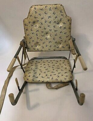 Antique 1950-60's Bilt-Rite Baby Chair Highchair Hook On Seat Vintage Hi & Mitey