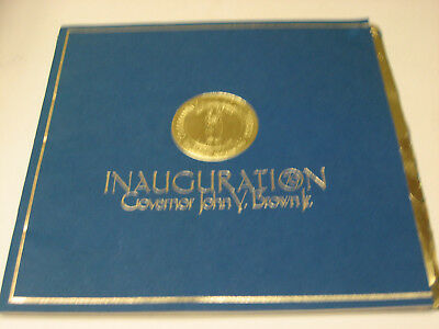 Inauguration Program Governor John Y Brown Jr 1979 Kentucky KY Frankfort Book