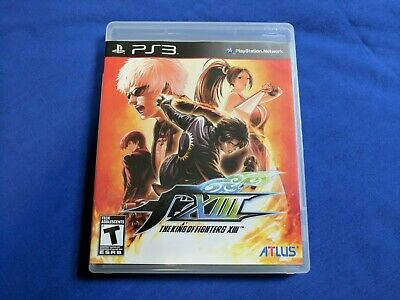 The King of Fighters XIII (PlayStation 3, 2011) - 13 - Complete - Mint Disc