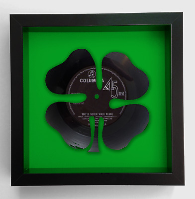 Celtic Football Club Gerry and the Pacemakers You'll Never Walk Alone Vinyl Art
