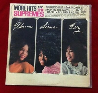 More Hits by The Supremes - Vinyl 33RPM Album LP Record Motown