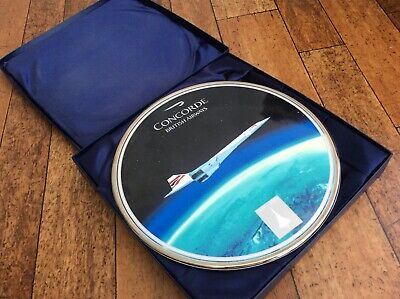 Boxed Bradford Exchange-Concorde: The Supersonic Years, Ltd Ed Collectors Plate