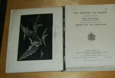 The History Of Flight  Book Catalogue On Airship And Aeroplane Maggs 1936 #619