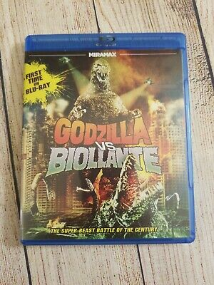 Godzilla vs Biollante (Blu-ray, 2012) OOP & Extremely Rare. Miramax Echo Bridge