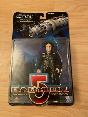 Babylon 5  Ambassador Londo Mollari  Transport Centauri Republic  Action Figure