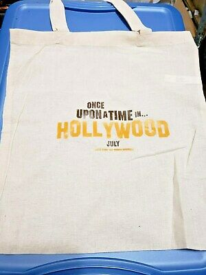 Once Upon Time In Hollywood (2019) SWAG Promo Tote Bag Tarantino