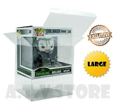 Vinyl Case Protector For Funko Pop Jim Lee DC Deluxe Collection (Large)