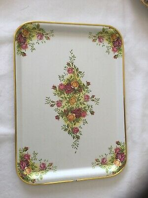 OLD COUNTRY ROSES reproduction serving tray