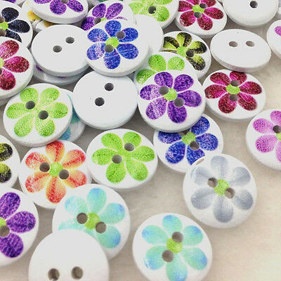 "Ladybug and Sunflowers Buttons Set of 4 Buttons 3//4/"" Diameter Wuttons Buttons"