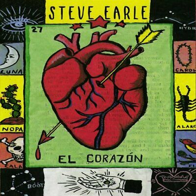 El Corazon by Steve Earle Music CD Album 1997 New Sealed