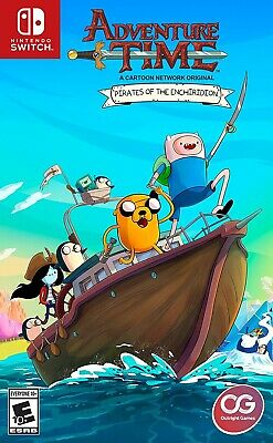 Nintendo Switch Video Game Adventure Time Pirates Of Enchiridion New And Sealed