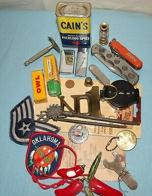 Junk Drawer Lot of Vintage Collectibles and Miscellaneous Items