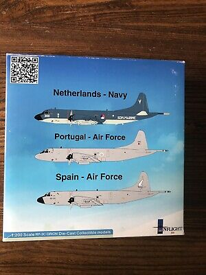 Portugal Airforce Lockheed P3C Orion Model by Inflight 200:NEW