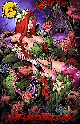 Faro's Lounge Jessica Rabbit as Poison Ivy Naughty & Nice Set by Jose Varese