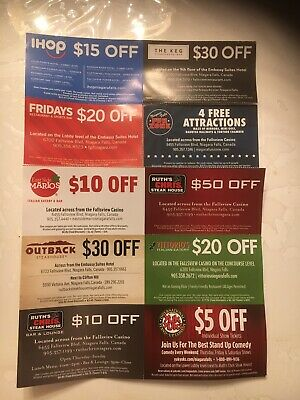 Niagara Falls Coupon Package Save Tons Of Cash!  Includes The Keg And Fun Zone