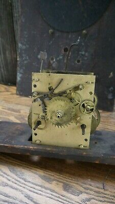 american tall case clock center sweeps seconds hand movement parts/project