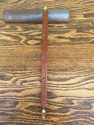 Antique Original Vienna Regulator Wall Clock Pendulum Stick
