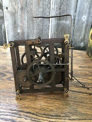 Unsigned Antique German Black Forest Cuckoo Clock Movement, Parts / Repairs