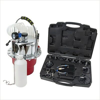 Portable Pneumatic Air Pressure Kit Clutch Brake Bleeder Set Valve System AU