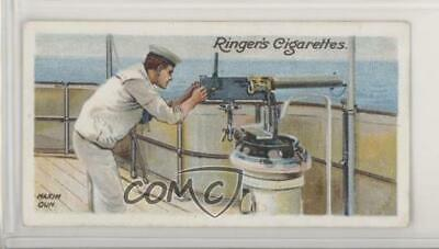 1905 Ringer's Life on Board a Man of War Tobacco New York Mixture Back #37 jn1
