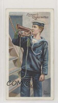 1905 Ringer's Life on Board a Man of War Tobacco New York Mixture Back #33 jn1