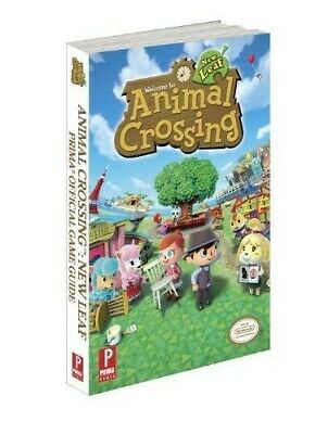 Animal Crossing: New Leaf Nintendo 3DS Official Strategy Guide Prima Games