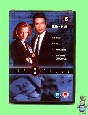 The X-Files 4 Episodes from Season 3 DVD New Sealed UK Region 2 PAL Scifi